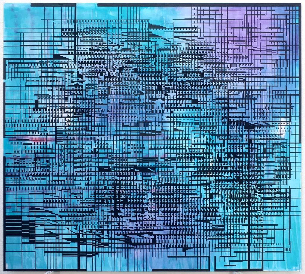 01-2018-untitled-acrylic on canvas-180x200cm